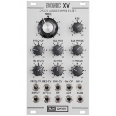 AJH Synth Sonic XV Diode Wave Filter Silver
